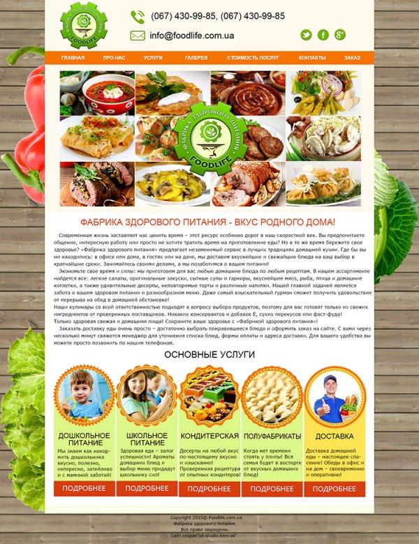 график здорового питания